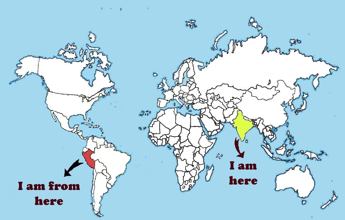 Donde esta india en el mapa for Donde se encuentra el marmol