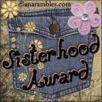 Sisterhood Award!