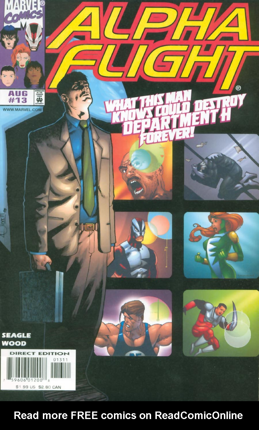 Alpha Flight (1997) 13 Page 1