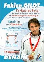 L'affiche de la journée consacré à Fabien Gilot