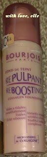 Bourjois Repulpant Reboosting Collagen Foundation (Liquid)