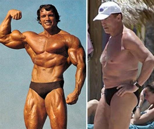 Se filtra foto de Arnold Schwarzenegger desnudo y