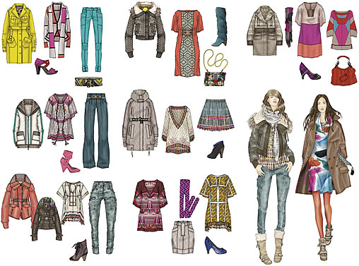 top fashion trends 2010