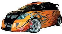 Honda Jazz Airbrush Modification Extreme