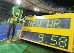 Bolt Sets New World Record