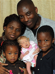 Nigerian couple give birth to white baby in Britain