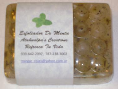 Jabon Exfoliador de Menta