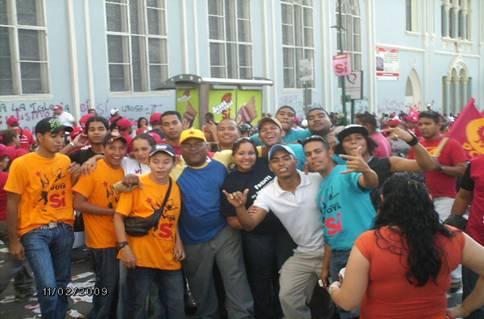 Día de La Juventud Caracas 2009