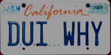 Dr. Lee's Famous DUI WHY License Plate!