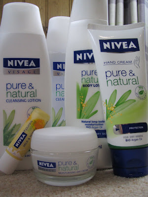Finally! Natural, Affordable Skin Care: Nivea 'Pure & Natural' Review - Fleur De Force