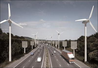 राजमार्गों के दोनों ओर कृत्रिम पेड़ लगाने का विकल्प