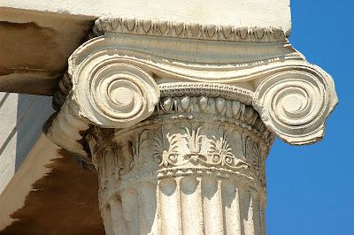 Todo arte arquitectura griega el rden j nico for Arquitectura de grecia
