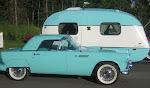 1955 T-bird & 1972 SMV