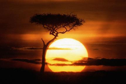 Att skildra en soluppgång tenderar att bli klichéartad om man på slentrian tar till andras uttryck.