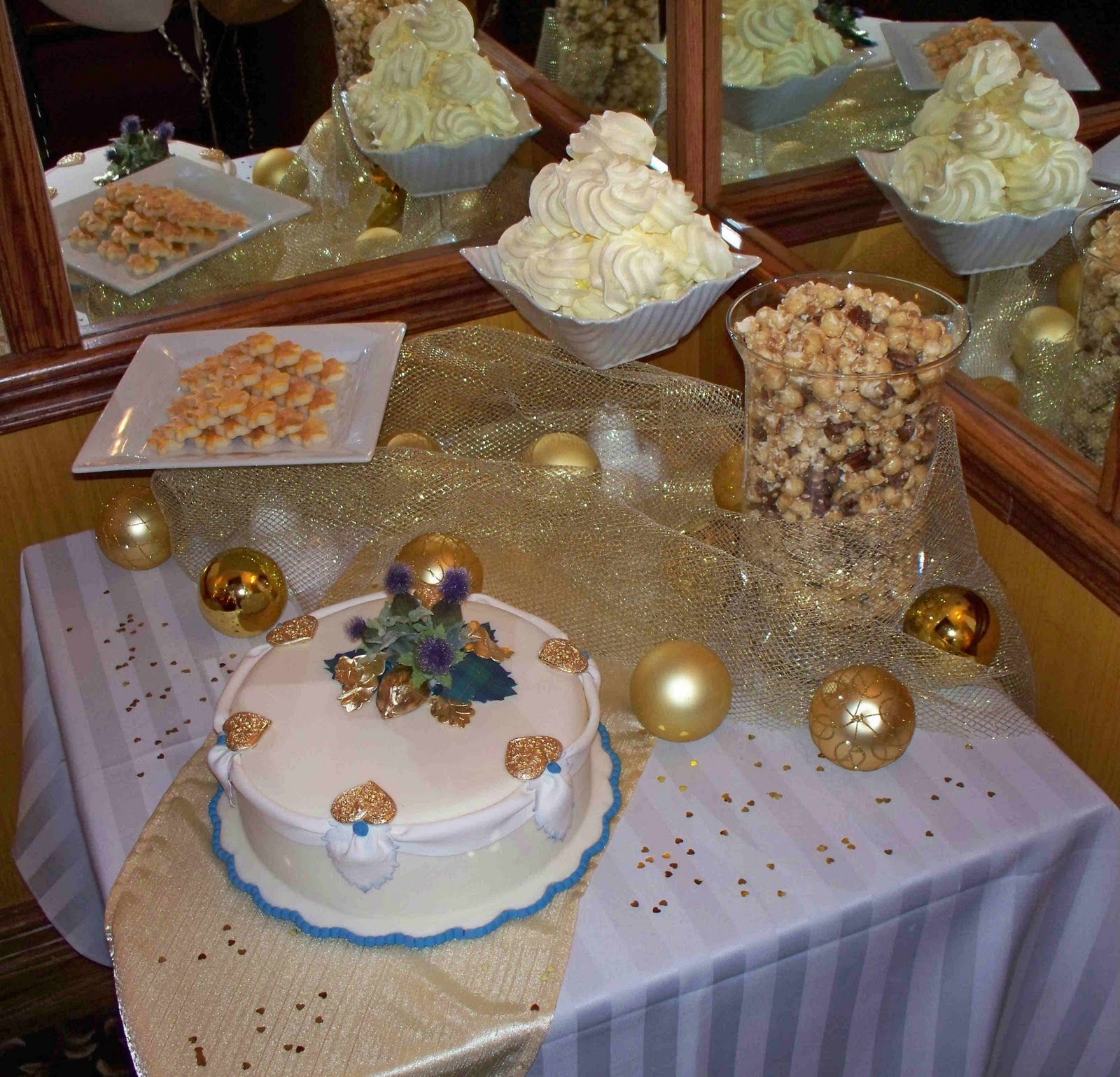 50th Wedding Anniversary Table Ideas: The Life Of A Suburban Princess: 50th Anniversary Party