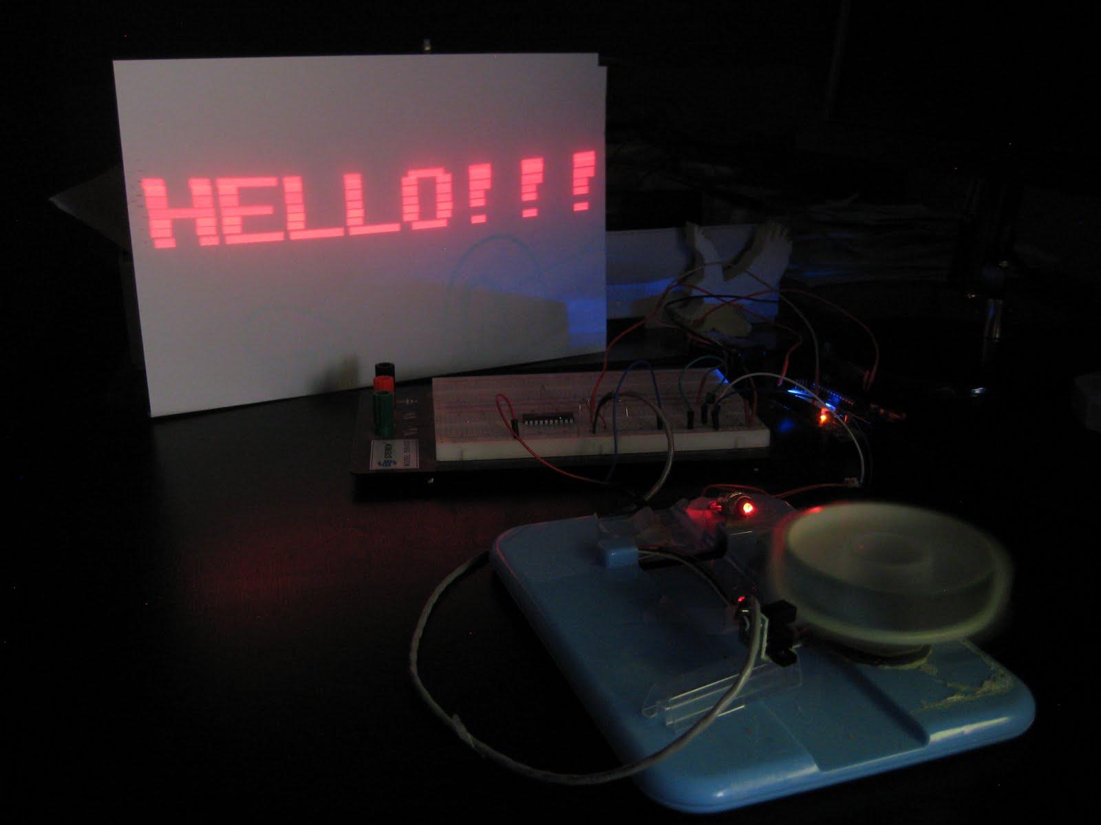 diy laser projector electronics