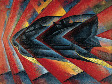 Dynamism of an Automobile-Luigi Russolo, 1912