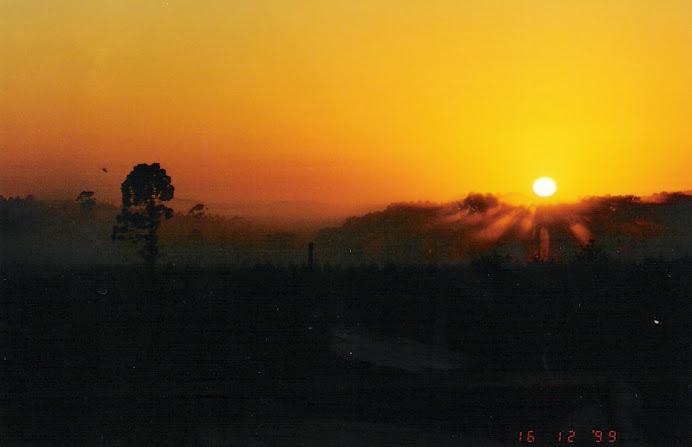 Precioso amanecer Misionero.