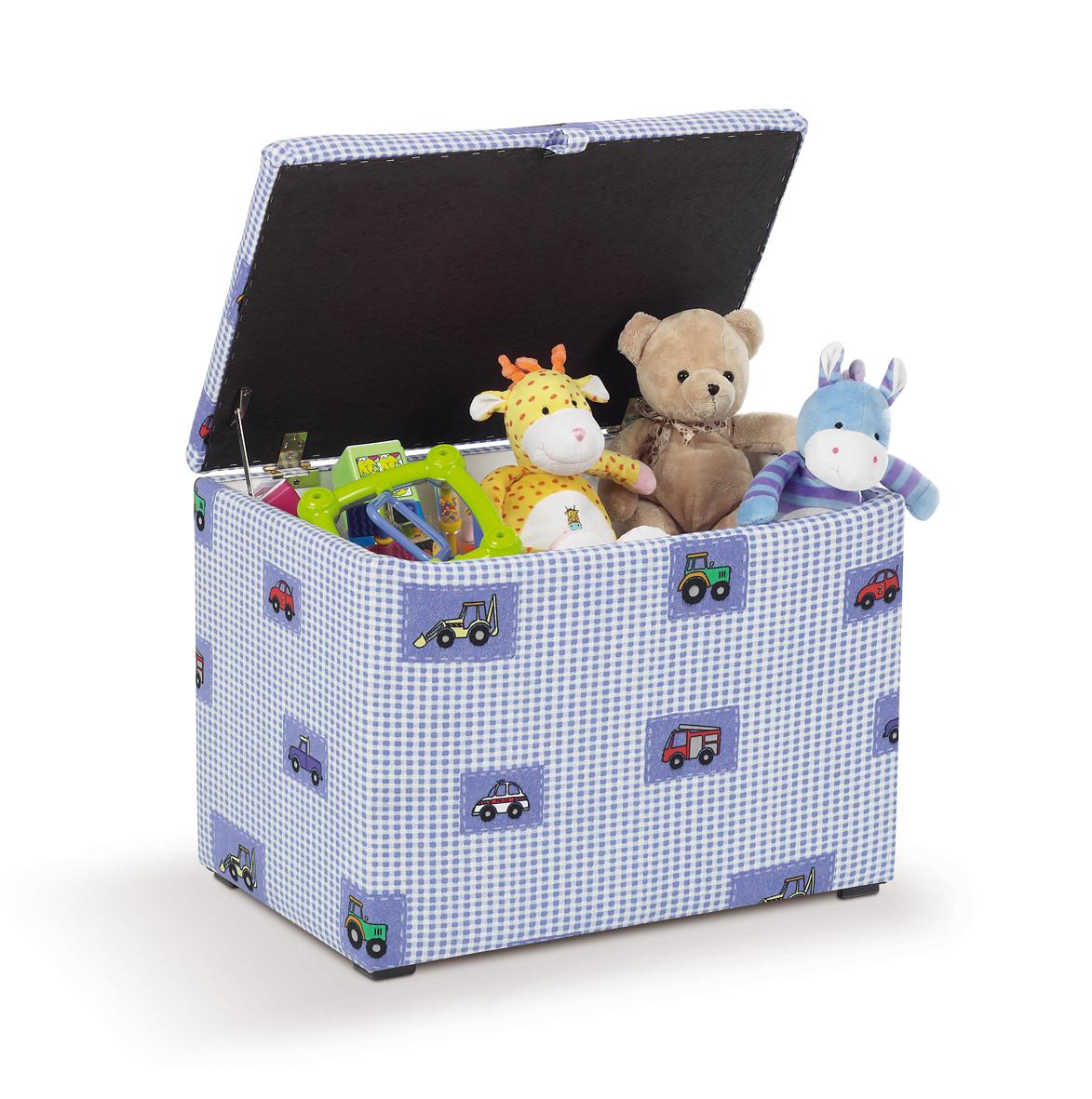 Как сделать ящик для игрушек своими 39