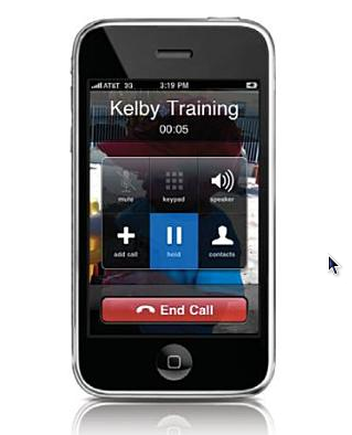 how to call someone on ipod 5