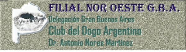 FILIAL N.O. GBA Club del Dogo Argentino