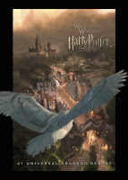 Wizarding World of Harry Potter Theme Park Poster