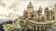 Hogwarts School of Witchcraft and Wizardry from OotP XBox 360 Game