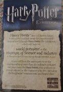 Harry Potter Exhibition Flyer