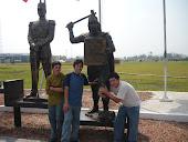 Miguel; Wilmer y Juan