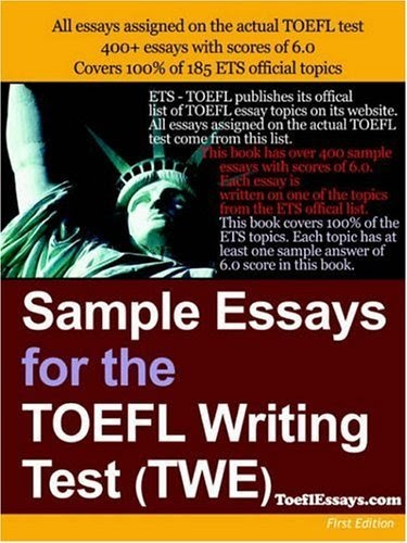 essay for toefl Evaluating the integrated writing task for development, organization, grammar, vocabulary, accuracy and completeness rating the independent writing essay on overall writing quality, including development, organization, grammar and vocabulary human rating — multiple, rigorously trained raters score tests anonymously.