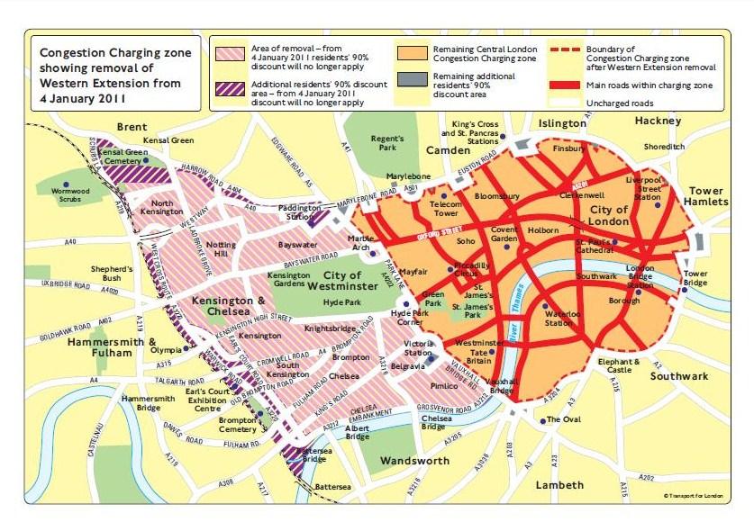 Zero Congestion Charge Autoesque