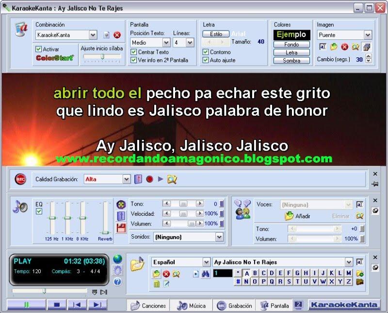 karaokekanta 5 0 espanol gratis: