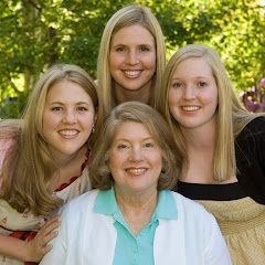 My mom and her girls