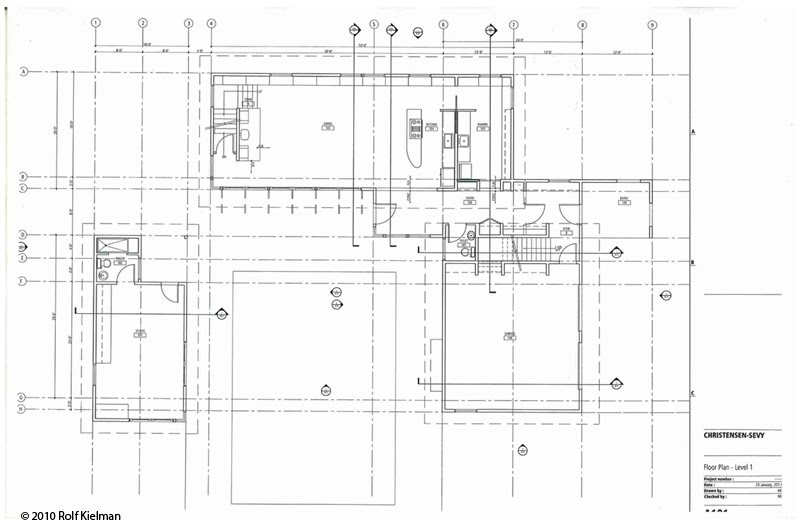 House Plans And Week 3 Photos