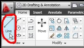 Menggunakan Erase Tool di AutoCAD 2011 (Contoh 1)