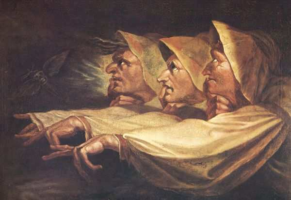 the three witches in macbeth essay The three witches in the tragedy macbeth are introduced right at the beginning of the play the scene opens with the witches chanting three prophesies: macbeth will.