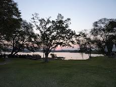 Zonsondergang in Livingstone