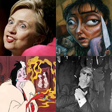 My little Hillary collage
