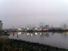 Cape May Harbor in February, taken with my cellphone