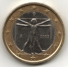 Vetruvian Man on the Euro