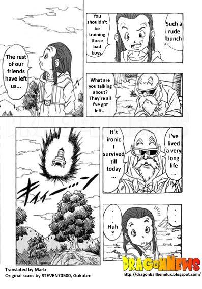 [Fanmade] Morte do Muten Roshi - Dragon Ball AF DBAF03