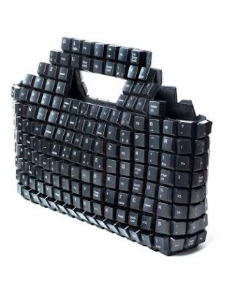 Keyboard Styled Ladies Handbags