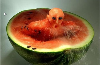 Unusual Pictures of Watermelon