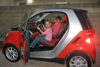 Just Doesn T Seem Safe She Says S Always Hy To Pose In The Smart Fortwo Don Ask Her Ride It