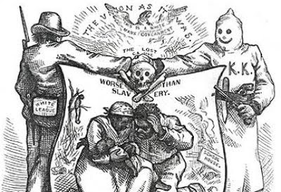 The Ku Klux Klan murdered thousands of Republicans -— African