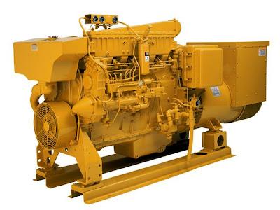 Cat 3406c Generator