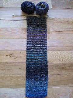 favorite scarf is the noro silk garden scarf i found the free pattern