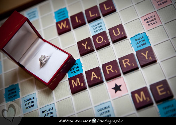 scrabble triple letter score will you marry me