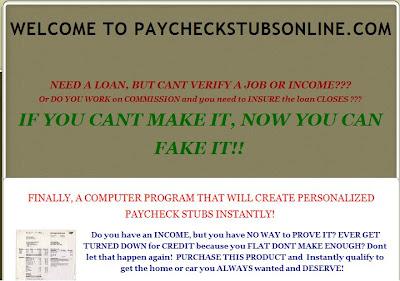 make fake paycheck stubs