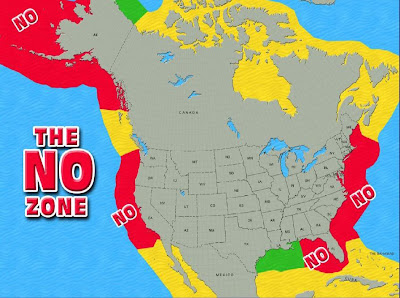 CARPE DIEM US Policies Put Most US Oil OffLimits To Drilling - Oil in the us map